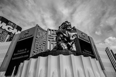 Hakkasan Las Vegas Nightclub at MGM Grand. Las Vegas, NV, USA