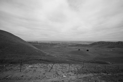 Patterson Pass Wind Farm & Tracy, CA. Patterson Pass Road. Livermore, CA, USA