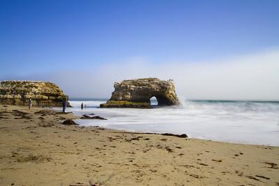 Natural Bridge State Beach - Santa Cruz, CA, USA