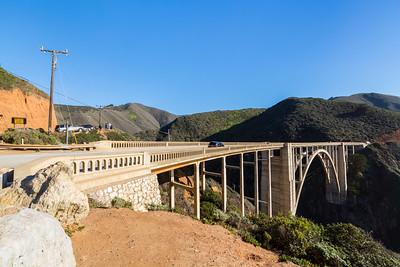 Bixby Creek Bridge. SR-1 - Monterey, CA, USA