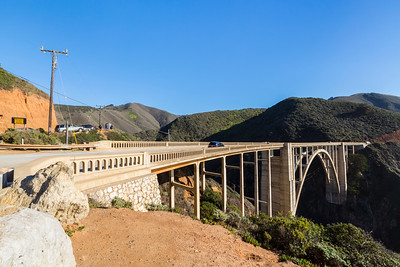 Bixby Creek Bridge. SR-1 - Monterey, CA, USA