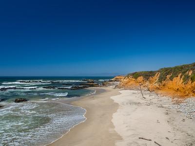 Pescadero State Beach. Pescadero, CA, USA