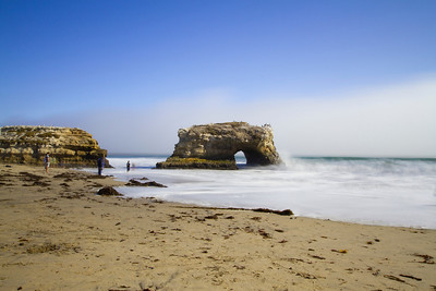 Natural Bridge State Beach - Santa Cruz, CA, USA