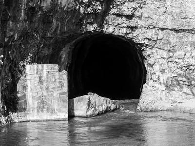 Liddell Creek. Bonny Doon Beach. Davenport, CA, USA
