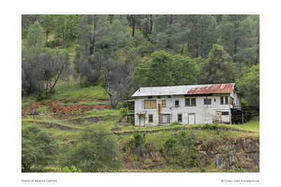 House in Merced Canyon
