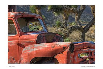 Car in Mojave