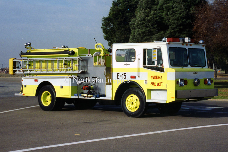 Federal Fire Department E-15 213