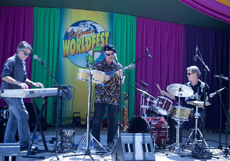 The Joe Craven Trio @World Fest '12