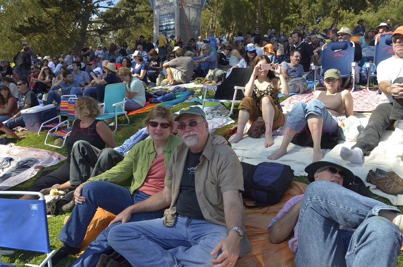 HSB relaxing at Banjo Stage