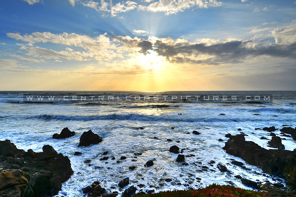 ocean sunrays_1350