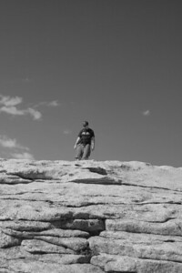 Dave on top of the world
