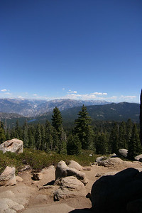 View from little baldy