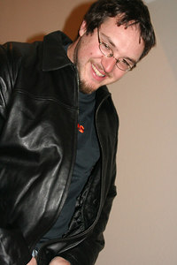 Dave & his leather jacket
