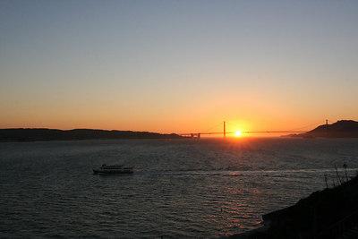 A lighter Sunset Photo