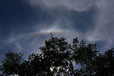 Small Rainbow in the Sky