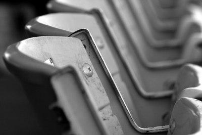 Seats at Bay Meadows