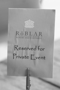 They had to give us our own private event sign for some reason