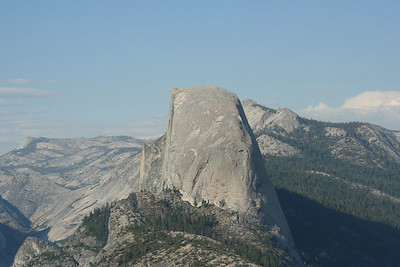 Half Dome...can you believe we hiked there!