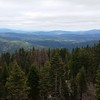 View from the fire tower view at the top of Pickett Peak