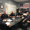 Part of my current watch,  taken at briefing on one of our guy's last days at work.   L to R, Stan Harkness, Brian Wilson, me, Ryan McElroy,  Steve Linfoot, Beau Southwell.  It was Beau's last day,  after 6 years at EPD he left to take a job as a Monterey County deputy.