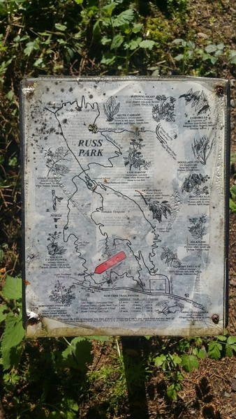 Russ Park, in Ferndale.  1.7 mile hiking trail through a bird sanctuary. (Meredith)