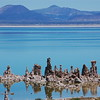 Salt formations at Mono Lake