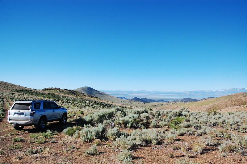 4x4 trail just inside Nevada, near Yosemite.