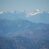 I think this is Mount Shasta, as seen from a forest service road high above Mad River.  Still snow covered, even in June.