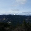 View of Black Lassic Peak from Hwy 36 near Mad River / South Fork Mountain summit