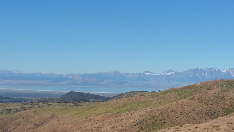 Mono Lake California as viewed from a 4x4 trail in Nevada (Meredith)