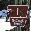 NF-1 is still closed with snow over the road, mid April...