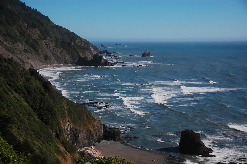Overlook of the Pacific from Enderts Beach Road, Crescent City