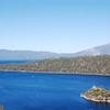 Lake Tahoe.  It's blue as fuck!