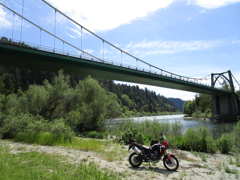 Orleans Bridge over the Klamath River