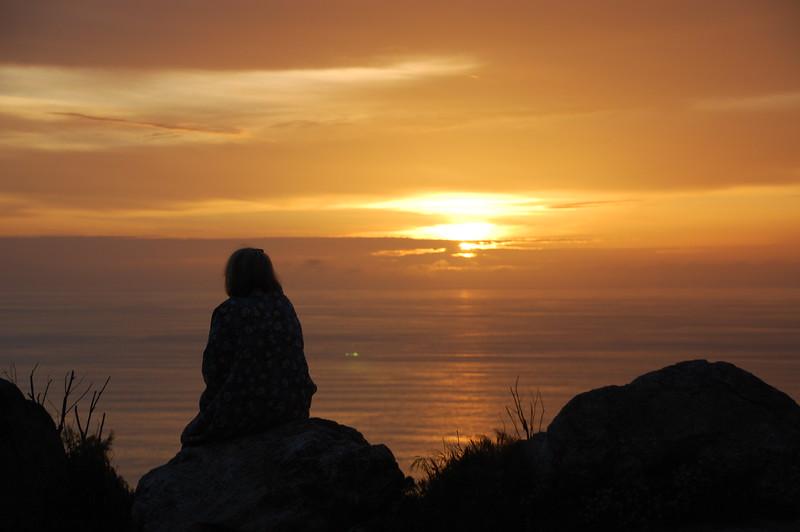 Sunset at Big Sur