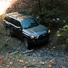 My 4Runner on a dry creek crossing on Midslope Rd.  Photo by Kai