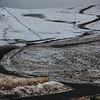 Snow atop Upper Bear River Road.