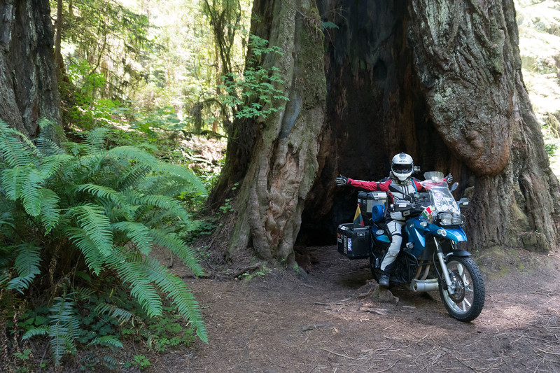 """We hosted Linis and Asta, from Lithuania, who are riding around the world over 18 months on motorcycles.  They are about 260 days into their journey now.  They spent a night with us and then we rode together a bit the next day. <br />  <br /> <br /> Follow their adventure at  <a href=""""http://www.2wheeledadventures.com"""">http://www.2wheeledadventures.com</a><br /> <br /> Asta on the Drury Parkway"""