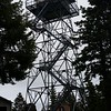 Fire tower on Pickett Peak