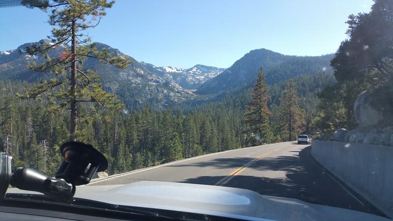 Entering Yosemite NP (Meredith)