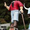 Paul Bunyan and my motorcycle