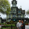 Mom and dad at the Carson Mansion