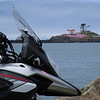 Lighthouse and V-Strom...