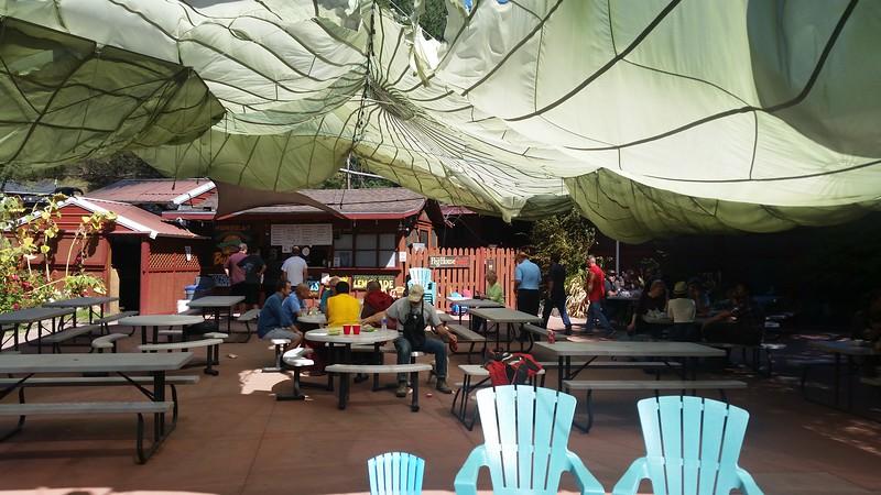 Fun little eatery on the PCH near Leggett, 'The Peg Room'