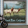 Mural on the Smith River, Calif Post Office.