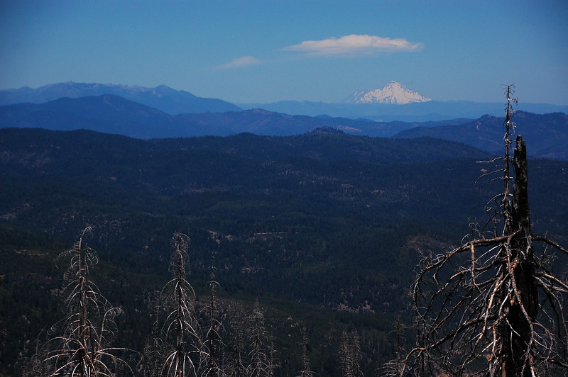 Closer shot of Mt Shasta from NF-23