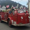 1954 LaFrance fire engine, unrestored.  Everything works.  FFD gives kids rides in it every July 4th.