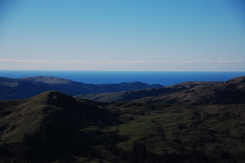 Ocean view from Upper Bear River Road.