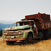 Old truck on Bear River Ridge