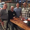 "L-R: Greg, Noel, Bram, and me.  Greg is an HCSO deputy and avid rider.  Noel is a cop in Australia who is on a 5 month tour of the US on a motorcycle.  He stopped into EPD randomly and met Bram, who I work with, and ended up staying at Bram's house for a few nights.  Bram invited Greg and I to dinner with he and Noel, and here we all are.<br /> <br /> Noel's blog:  <a href=""http://adventuretravelr.com/"">http://adventuretravelr.com/</a><br /> <br /> (Photo by random bar girl with smallish tits and large teeth but who was still fairly hot)"